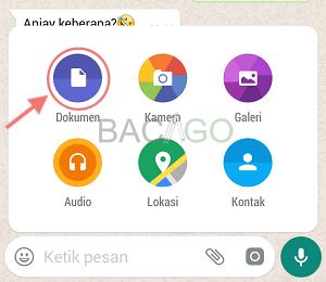 cara mengirim foto lewat whatsapp agar tidak pecah
