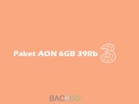 Paket Tri AON 6GB